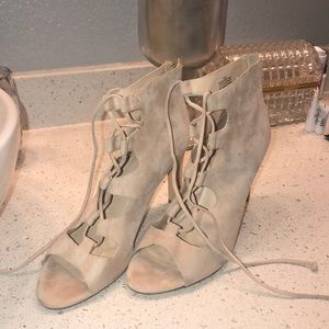 Nine West Blush Wrapping Heels